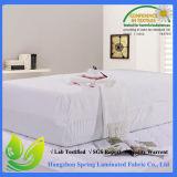 Cubiertas lavables superiores impermeables del protector del colchón de Terry
