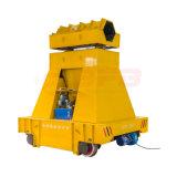 El carro pesado de la manipulación de materiales se aplicó en la industria de acero (KPT-40T)