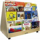 Soporte de visualización con estilo de libro, estante de visualización de libro del estallido