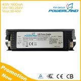 L'approbation TUV ASA 40W 1000mA Driver de LED à courant constant