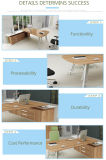 고전적인 현대 작은 사무실 테이블 디자인 지원실 작업대