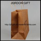 Sac à provisions personnalisé de papier d'emballage pour la salade, pâtisserie, desserts, café à emporter