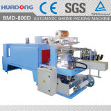 소매 음료는 인쇄한 필름을%s 가진 최신 수축 포장 기계를 병에 넣는다
