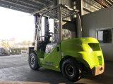 2륜 전차 Elevateur 가마니 죔쇠를 가진 3 톤 디젤 엔진 포크리프트