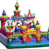 Trampoline-aufblasbares federnd Schloss
