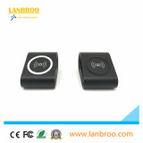 Mini carregador móvel esperto a condução do carregador do rádio do telefone de pilha da forma