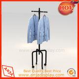 Vestuário de metal portátil Racks de exibição para armazenar