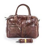 На заводе оптовой ценой Vintage кожаные сумки через плечо бизнеса для мужчин
