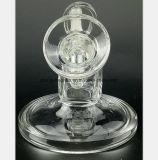 Canon en verre de jet d'eau réutilisation ronde de filtre à huile de 3.1 pouces