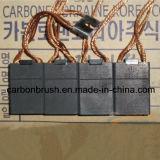 Spazzola di carbone dell'elettrografite PER ESEMPIO 332 per l'applicazione elettrica