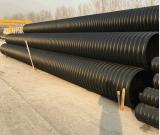 Certisfied 10 Zoll HDPE Rohr-doppel-wandiges gewölbtes Rohr