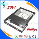 IP65 10W / 20W / 30W / 50W LED Floodlight para iluminação de projeto ao ar livre