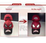 As crianças Reflective Imprimir Bordados Boné Patch para Spiderman