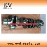 As peças do motor da escavadeira 6D14 6D14t 6D16t 6D22t 6D24t 6D16 Conjunto do Rolamento Principal do Virabrequim
