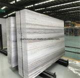 الصين رخام بيضاء, خشبيّة عرق رخام قرميد, لوح بيضاء رخاميّة, بلّوريّة خشبيّة حبّة رخام