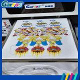 공장 기계를 인쇄하는 도매 Garros A3 평상형 트레일러 자동적인 면 t-셔츠