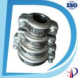 Струбцина нержавеющей стали размера штуцера трубы штуцера трубы нержавеющей стали