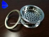 Placa de filtro da Tri-Braçadeira com anel da compressão