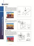 Clips de Cssm pour des grilles de la fixation FRP, matériaux SS316 de qualité