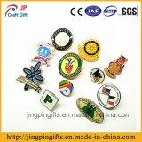 Logotipo de encargo del Pin de metal de la insignia de solapa, esmalte suave Pin