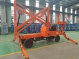 le meilleur levage électrique mobile hydraulique de vente de boum télescopique de 4-16m 200kg Chine avec le prix bon marché