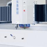 Máquina de cristal triaxial horizontal del ribete del CNC para el vidrio Shaped