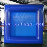 Kleines blaues aufblasbares Pool/Qualität PVC-aufblasbares Pool