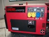 Générateur diesel refroidi par air silencieux unique de cylindre
