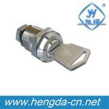 Yh9809 De alta calidad de aleación de zinc Die-Cast de vivienda y Cilindro Hardware Fitting Apartamento Post Cabinet Cam Lock