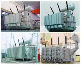 12, 24, 36kv Transmetteur de puissance / transformateur de distribution Step Down Oil Immersed Type / Electronic Transformer