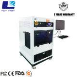 машина кубика блока развертки лазера 3D выгравированная лазером кристаллический