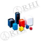 Bunte kundenspezifische Belüftung-Schutzkappen für quadratisches Metallrohr