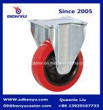 5 рицинус шарнирного соединения стержня дюйма TPU материальным продетый нитку колесом