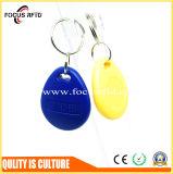Contrôle d'accès classique Mifare 1K tag RFID avec la clé de la chaîne et de différentes couleurs