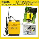 16L 배낭 수동 스프레이어, 금관 악기 펌프, 금속 기본적인 스프레이어