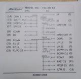 La gru Radio Remote del pulsante di doppia velocità di prezzi di fabbrica 8 gestisce per la gru a ponte, la gru a ponte, le attrezzature di sollevamento, ecc