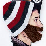 新しいデザイン暖かいかぎ針編みのニットの帽子