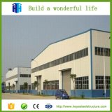 Taller de la construcción de edificios de dos pisos de la estructura de acero
