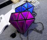 Мода для отдыхающих PU лазерный алмазов из натуральной кожи сумки через плечо мешок для наблюдения за приливами
