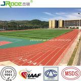 China-Fabrik GummiLeichtathletik-der materiellen athletischen Spur-Oberfläche für Stadion