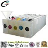 1200ml cartuchos recargables para Epson T7000 T5000 T3000 Impresora con chip de arco