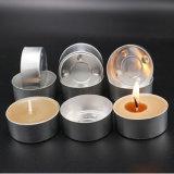 Tealightの石蝋の蝋燭に使用する個人化された蝋燭ホールダーのコップ