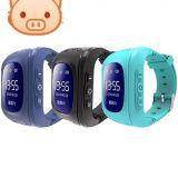 GPS 두기를 가진 Q50 아이들의 전화 지능적인 시계