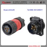 Cnlinko 3pin Socket Plug Insulated Electrical Wiring Connector mit Dust Cover