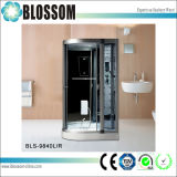 Sitio de ducha del sector del masaje de cristal de interior del vapor/cabina completos (BLS-9840)