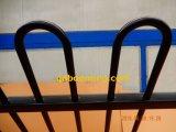 粉のコーティングが付いている鋼鉄ループ上の塀のパネル