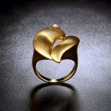 De Ring van de Juwelen van de Manier van het Messing van China Twisty Matal van de Kwaliteit van Nice