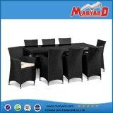 Rattan caldo della mobilia 8-10 Seater del giardino di vendita che pranza insieme