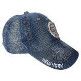 Gorra de béisbol lavada de encargo con la impresión y el bordado Gjwd1752