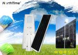 Réverbères solaires de lumière de jardin de haute performance avec l'appareil-photo